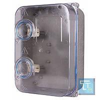 Шкаф пластиковый e.mbox.stand.plastic.n.f3.прозр. под трёхфазный счетчик, навесной, с комплектом метизов, E.Next