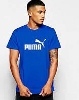 Мужская футболка Puma (синяя)