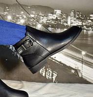 Демисезонные женские ботинки на байке