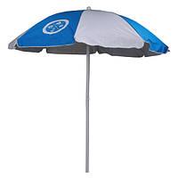 Зонт пляжный 2 м сине-белый