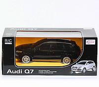 """Машина, р/у., """"AUDI Q7"""", 2 вида, батар., свет. фары, масштаб 1:24, в кор. 28*12*14см"""