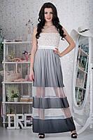 Шикарное, вечернее, длинное платье  L р