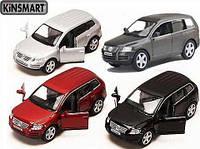 Модель Джип Volkswagen Touareg, метал, инерц