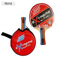 Теннис настольный T0102 (60шт) 2 ракетки + 3 мячика, под слюдой 25*15см
