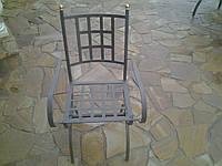 Кованый стул для сада
