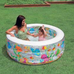 Бассейн 58480 (3шт) аквариум, 318 л, 3,6 кг, 152-56см