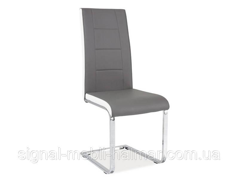 Купить кухонный стул H-629 signal серый/белый (signal)