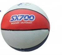 Мяч баскетбольный BT-BTB-0004 резиновый, размер 7 600г 7в.ш.к./50/