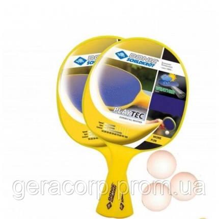Набор для настольного тенниса Playtec Outdoor 2-player Set, фото 2