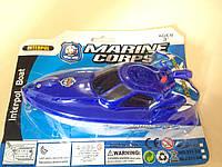 Катер M 0915 (120шт) полиция, 15-7,5-6см, микс видов, на бат-ке, на листе, 15,5-19-6см