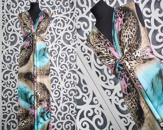 Шикарное платье в пол-Сарафан 48, 52 размер, фото 2