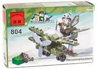 Конструктор BRICK 804 (200шт) самолёт-разведчик