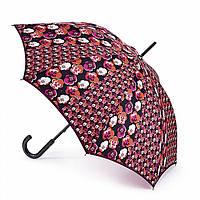 Женский зонт-трость Fulton Kensington-2 L056 - Contrast Retro