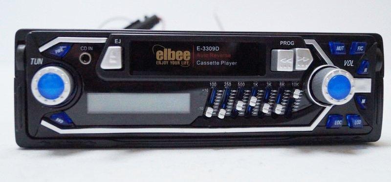 Автомагнитола касетная elbee elbee E3309D