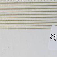 Рулонные шторы День Ночь Ткань Полоска ВМ-2301 Молоко
