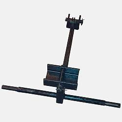 Крепление граблей Солнышко  ГВР-4 к трактору (ДТЗ)