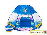 Палатка треугольная, 180*160*120см, в сумке 47*45см (24шт/2)