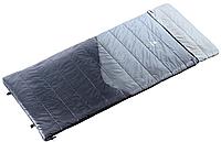 Спальник-одеяло для кемпинга Space II цвет 4100 titan-black/серый (правый) DEUTER 37011 4100 0.