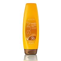 Солнцезащитный увлажняющий лосьон для тела SPF 30 с сияющим эффектом Avon, Эйвон, Ейвон