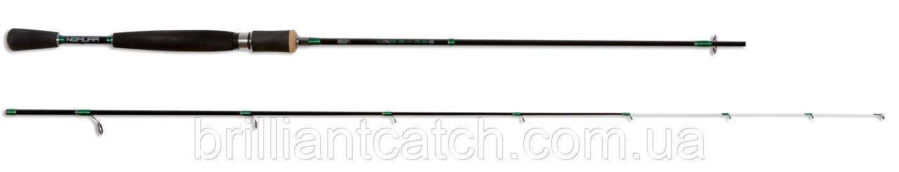 Спиннинг Nomura AKIRA 1.98м  28гр. (вес 113гр.)