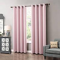 Ткань Блекаут / Blackout розовый
