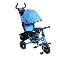 """Трехколесный детский велосипед-коляска  Lexus Trike """"Super Trike"""", надувные колеса на подшипника."""