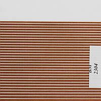 Рулонные шторы День Ночь Ткань Полоска ВМ-2304 Светло-коричневый