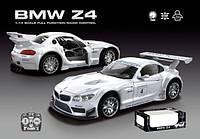 Машинка на радиоуправлении BMW Z4 866-1412В, масштаб 1:24, коробка 51*20,5*18 см