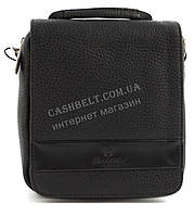 Удобная небольшая прочная мужская сумка с качественной PU кожи SAIFILO art. SF094-6 черный