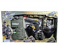 Набор полиции 33480 (18шт) жилет, маска, пистолет, бинокль, автомат трещетка, в кор-ке 66- 38-6см