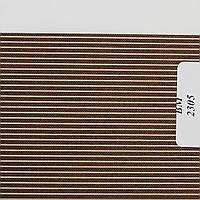 Рулонные шторы День Ночь Ткань Полоска ВМ-2305 Тёмно-коричневый
