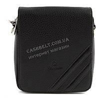 Удобная небольшая прочная мужская сумка с качественной PU кожи SAIFILO art. SF094-3 черный