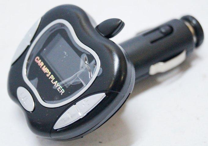 FM модулятор Яблоко с пультом управления