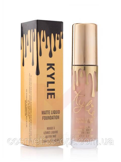 ПРИМЯТЫЕ КОРОБОЧКИ! Тональный крем Kylie Matte Liquid Foundation (реплика)