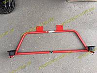 Растяжка (распорка) задняя Заз 1102 1103 таврия славута  (трапеция красная с подушками), фото 1