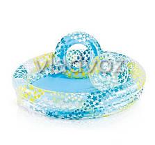 Детский бассейн круглый мяч и круг 122-25см 59460, фото 2
