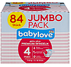 Babylove Подгузники Jumbo Pack 4 maxi (7-18 кг) 84 шт