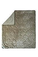 Одеяло двухстороннее махровое Cute 200х220 светло-серый SoundSleep