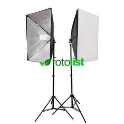 Набор постоянного студийного света Arsenal SLH-6090-2, 2х125w, 1250 Вт, 5500К