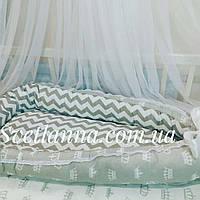 Кокон гнездышко для новорожденных. Мини-кроватка, фото 1