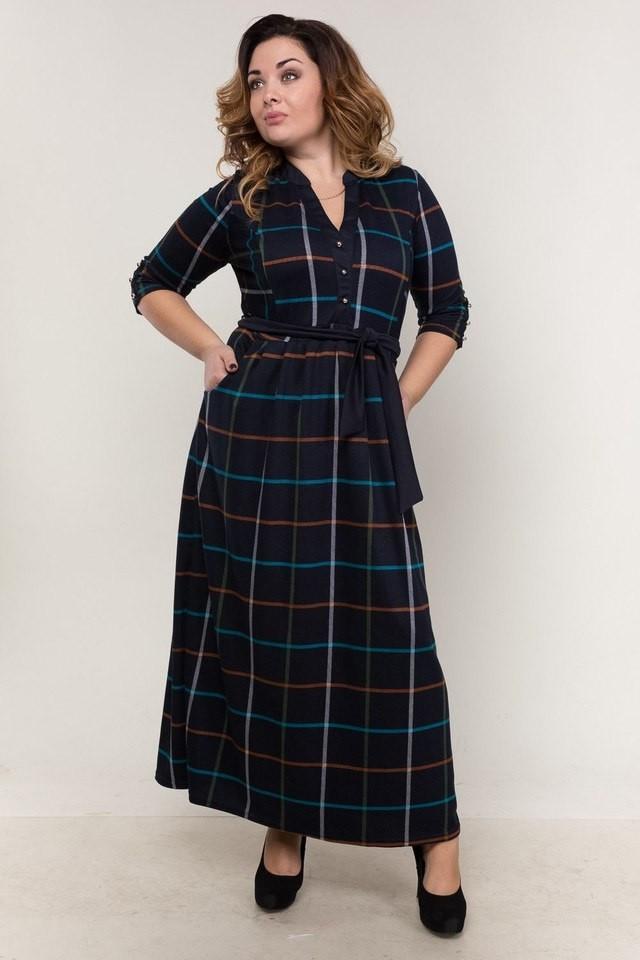 Шикарное женское платье в пол 48 размер норма