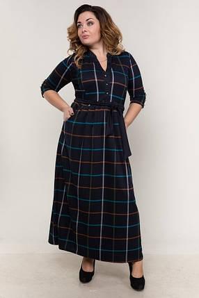Шикарное женское платье в пол 48 размер норма, фото 2
