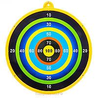 Дартс M 3003 (180шт) 16,5см(EVA,картон), магнитный,дротики2шт,7 видов,16,5-16,5-2см