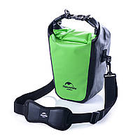 Водонепроницаемая сумка для фотоаппарата зеленая, фото 1