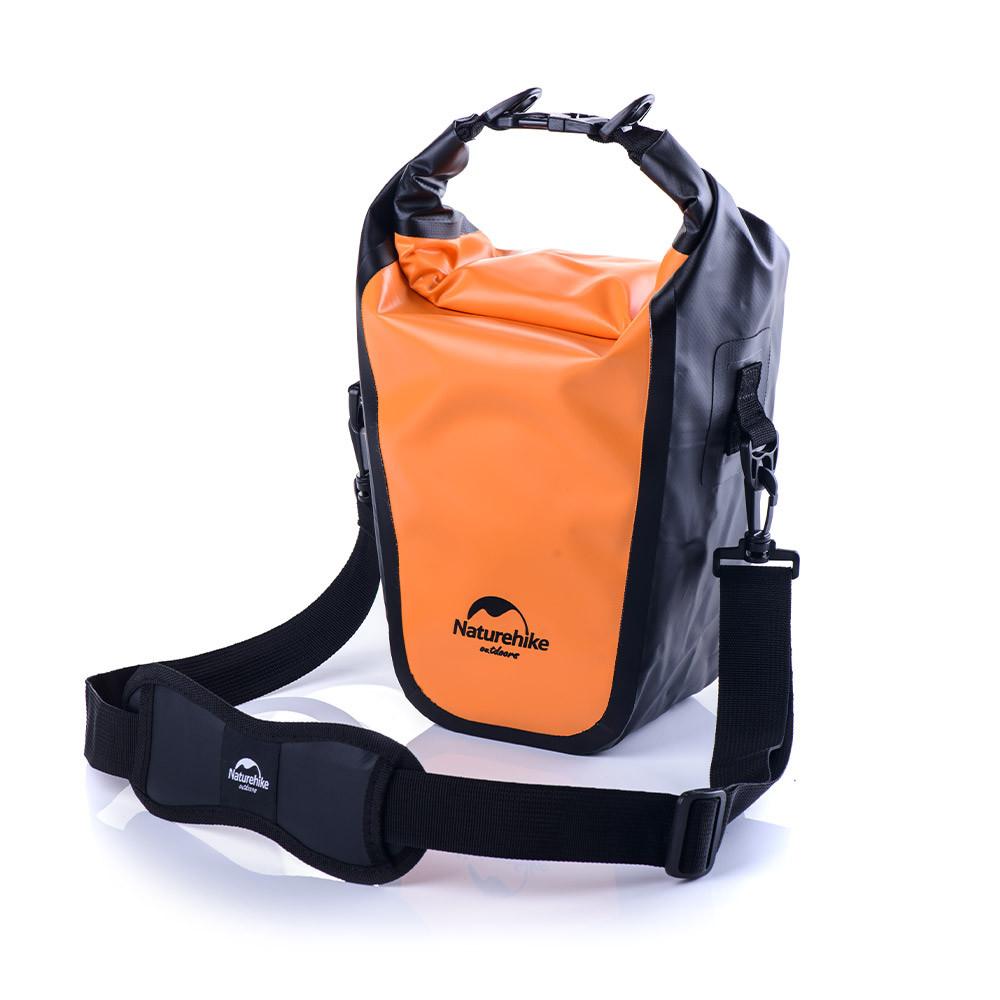 Водонепроницаемая сумка для фотоаппарата оранжевая