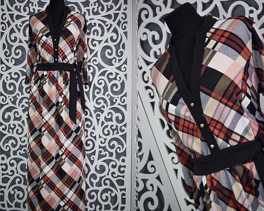 Красивое женское платье в пол 48 размер норма, фото 2