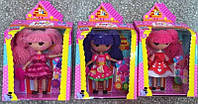 "Кукла ""Lala Loopsy"" 2045 (48шт/2) 3 вида, шарнир, с аксесс для волос, в кор. 20*9*35см"