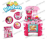 Кухня 008-908, от Kitchen, 69*45,5*26,5 см, посуда, продукты, тостер, свет, звук, на батарейках, в коробке