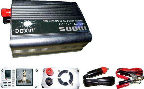 Автомобильный инвертор, преобразователь напряжения 12/220 500w