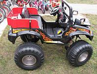 Детский электромобиль-джип Bambi M 1713 R BI